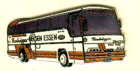 Krawatten-Nadel NEOPLAN-Jetliner N 216 H Hessbrüggen-Reisen