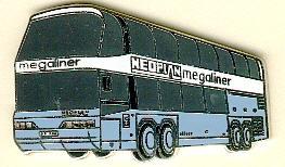 Krawatten-Nadel NEOPLAN-Megaliner N 128/4