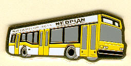 Krawatten-Nadel NEOPLAN-Niederflur N 4014