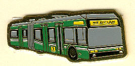 Krawatten-Nadel NEOPLAN-World-City-Trolley-B