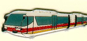 Schlüssel-Anhänger NEOPLAN Eurailbus