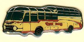 Krawatten-Nadel NEOPLAN-Oldtimer -  1 1/2-Decker