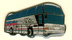 Krawatten-Nadel NEOPLAN-Cityliner PLATIN