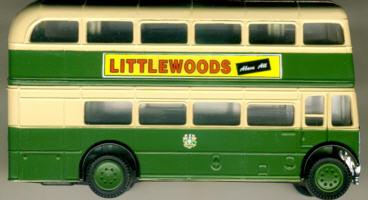 Corgi AEC-Regent Liverpool LITTLEWOODS