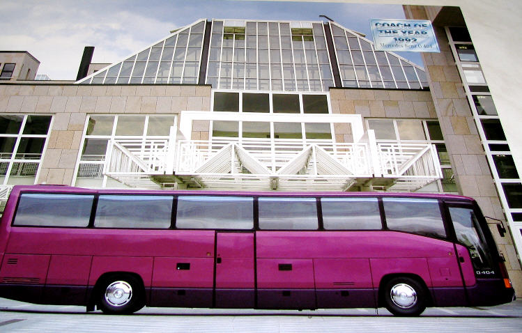 Mercedes-Benz O 404 COACH OF THE YEAR 1992