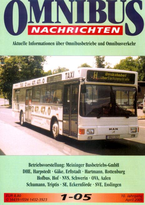 Omnibus-Nachrichten Nr.:1-05