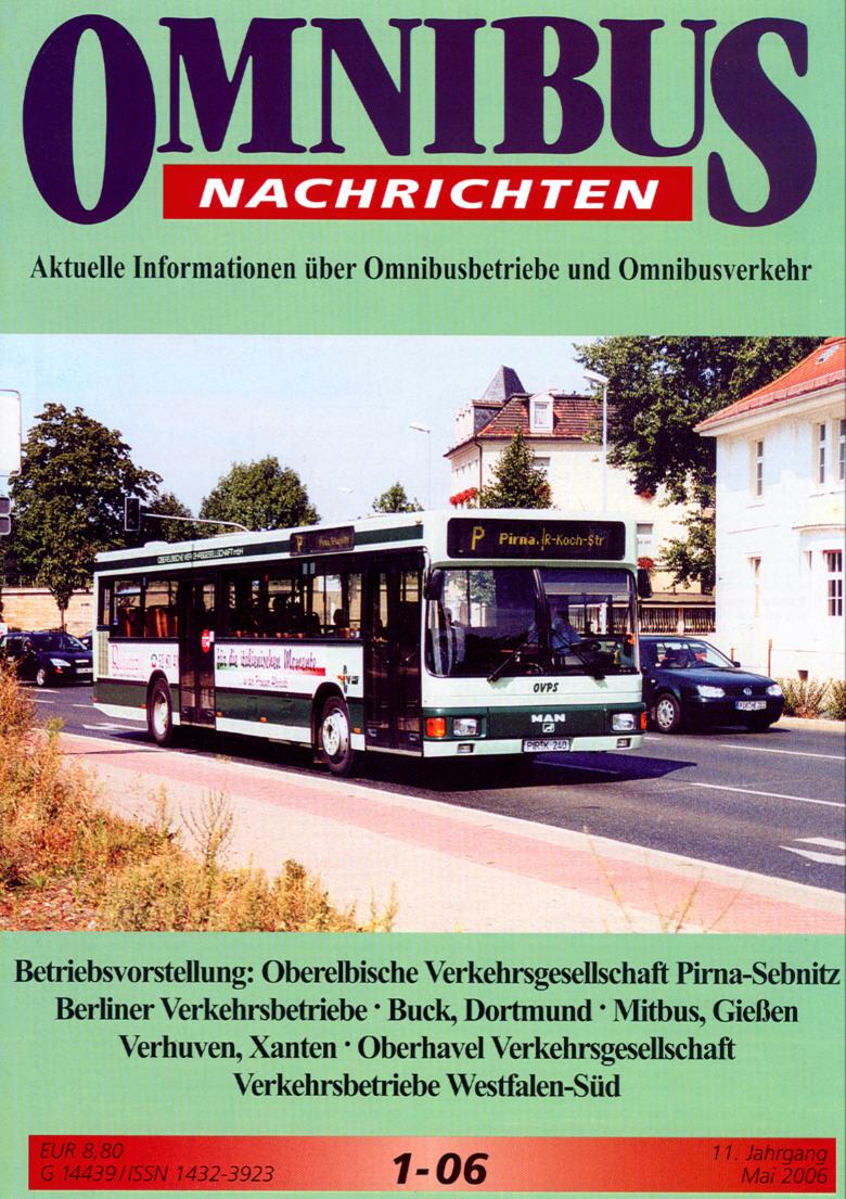 Omnibus-Nachrichten Nr.:1-06