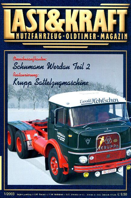 Last & Kraft Oldtimer-Magazin 1/2003