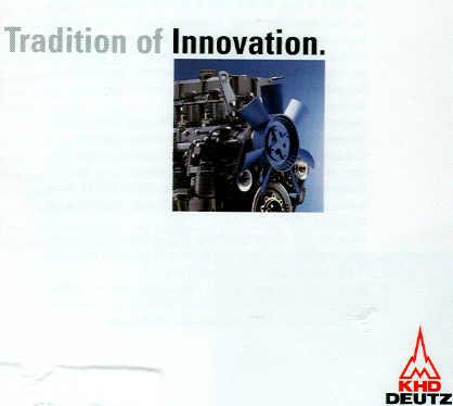 KHD-Deutz CD-Rom Tradition of Innovation