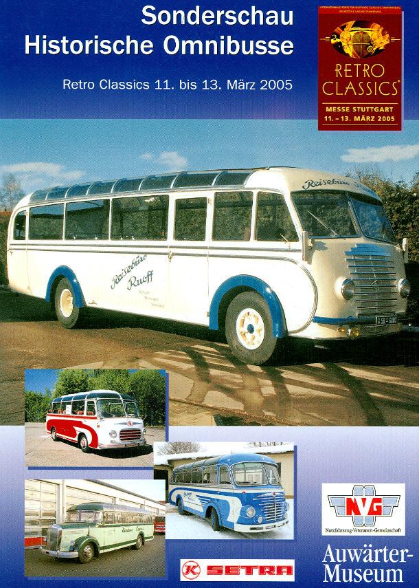 Historische Omnibusse Sonderschau RETRO CLASSICS