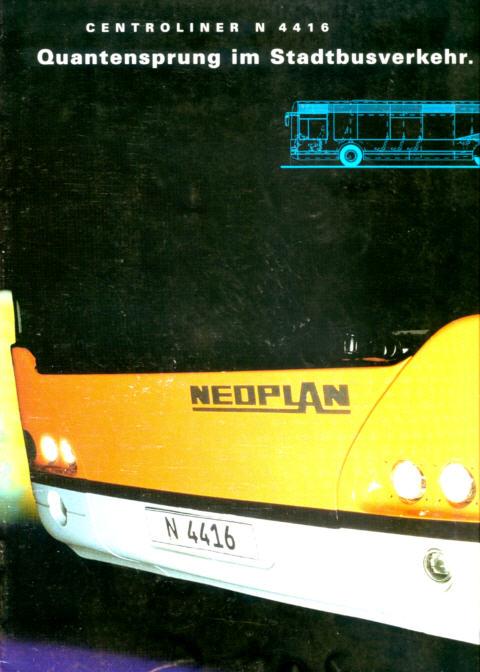 Prospekte Neoplan Centroliner N 4416