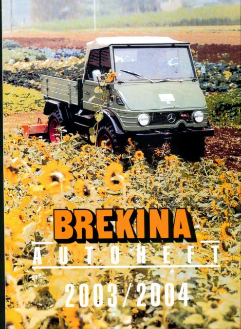 Brekina-Autoheft Gesamtprogramm  2003/2004