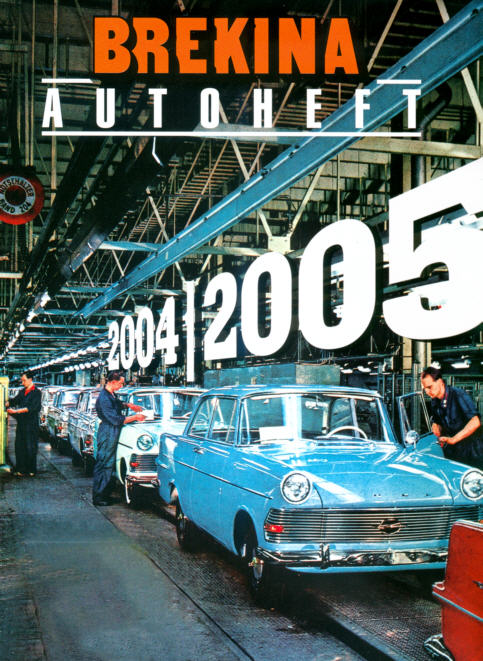 Brekina-Autoheft Gesamtprogramm 2004/05