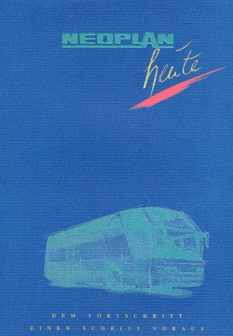 Neoplan-heute 1935-1997 Dem Fortschritt einen Schritt voraus -