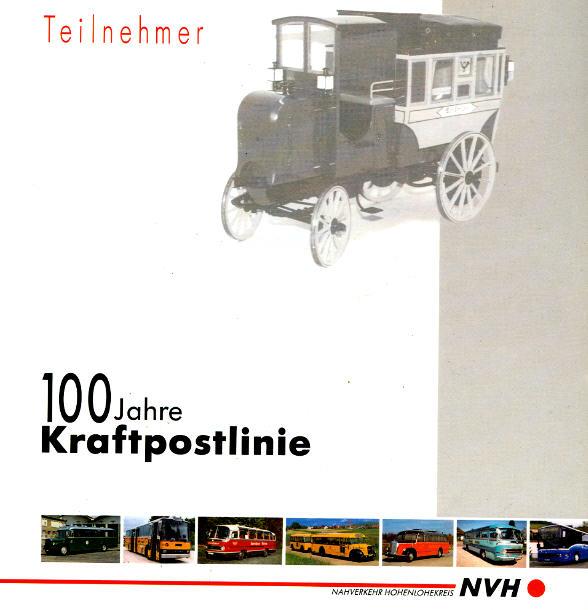 100 Jahre Kraftpostlinie Teilnehmerverzeichnis