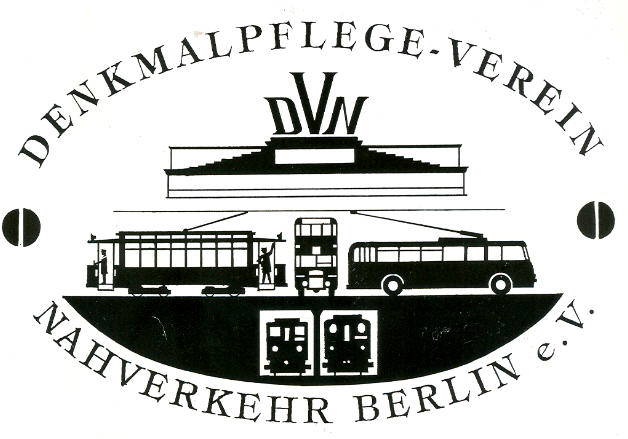 Aufkleber DVN, Berlin