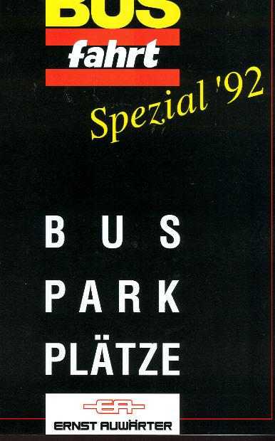 Bus Fahrt Spezial '92