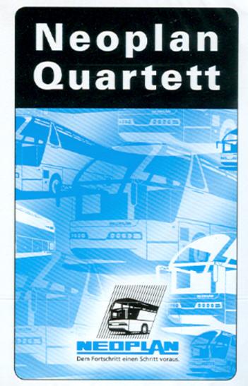 Neoplan-Quartett - NEU! 32 Blatt  Farbe