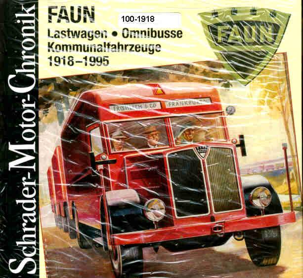 FAUN Omnibusse,Lastwagen..