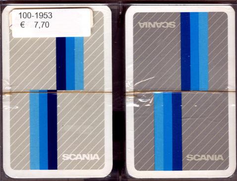 Kartenspiel - Romme Scania