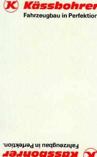Kässbohrer-Schafkopfspiel mit Werbung