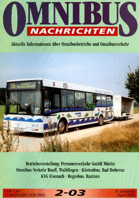 Omnibus-Nachrichten Nr.:2-03