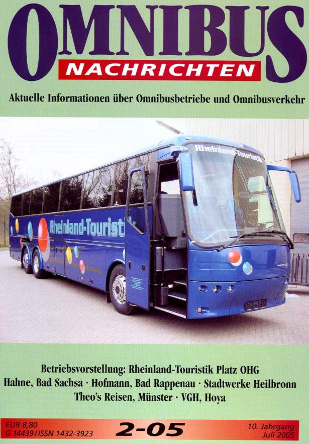 Omnibus-Nachrichten Nr.:2-05