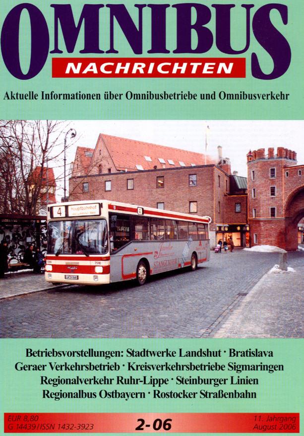 Omnibus-Nachrichten Nr.:2-06