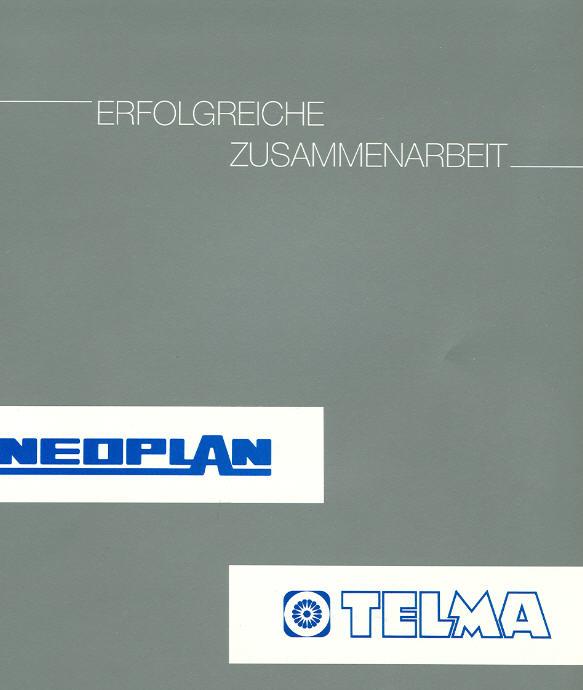 Neoplan-Telma Zusammenarbeit