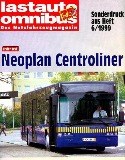 Lastauto-Omnibus Neoplan-Centroliner Test