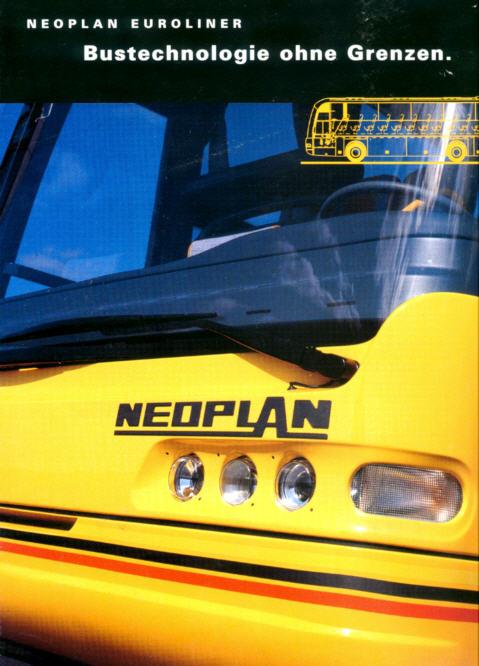 Prospekte Neoplan-Euroliner
