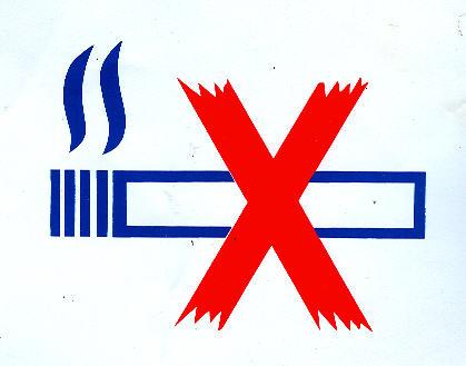 Aufkleber - Bus Rauchen verboten