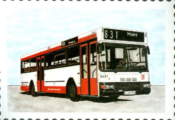 Postkarten VRR/Rheinische Bahngesellschaft
