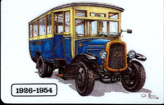 Oeko Pass Omnibus 1926-1954