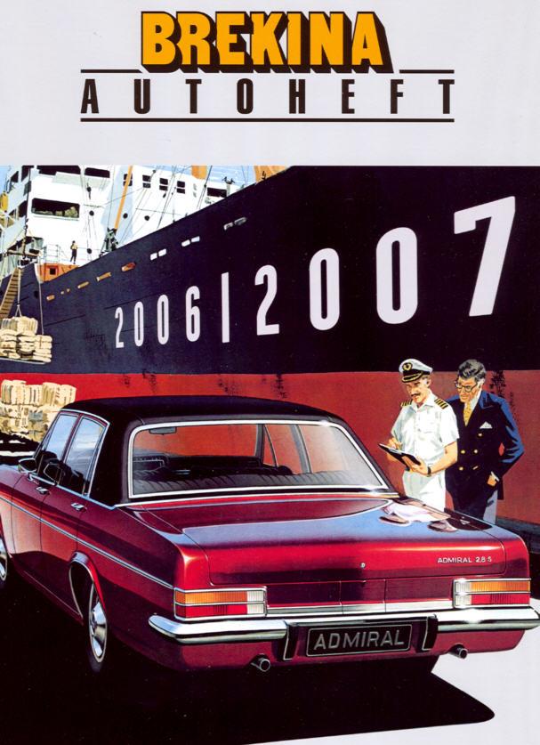 Brekina-Autoheft Gesamtprogramm 2006/2007