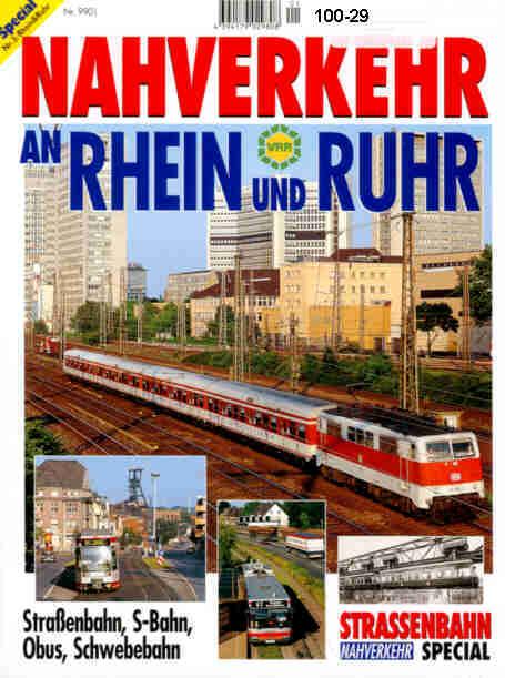 Nahverkehr an Rhein+Ruhr Straba,S-Bahn,Obus,Schwebeba