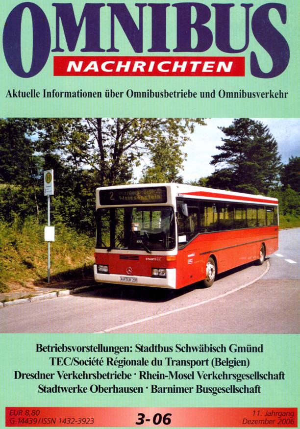 Omnibus-Nachrichten Nr.:3-06