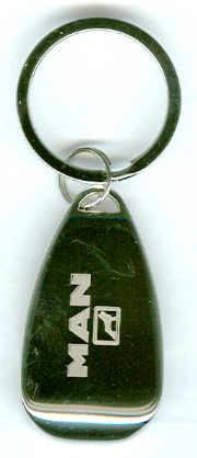 Schlüssel-Anhänger MAN mit Flaschenöffner