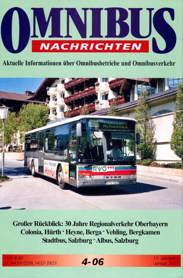 Omnibus-Nachrichten Nr.:4-06