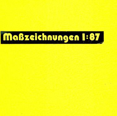 Maßstabzeichnungen 1:87 50 versch./Mercedes Benz -  Magirus/MAN/