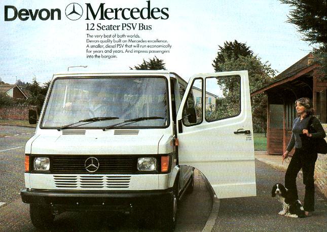 Prospekte Mercedes Benz MB   -  PSV-Bus -  12-s.