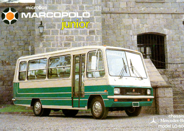 Prospekte Mercedes Benz MB   -  LO 608D -  Brasil