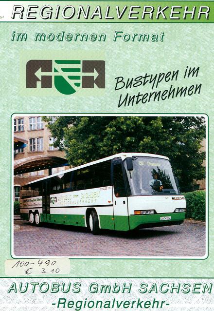 Autobus GmbH Sachsen Bustypen im Unternehmen
