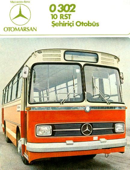 Prospekte Mercedes Benz MB  -  O 302 10 RST