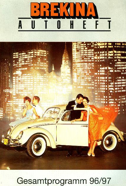 Brekina-Autoheft Gesamtprogramm 96/97