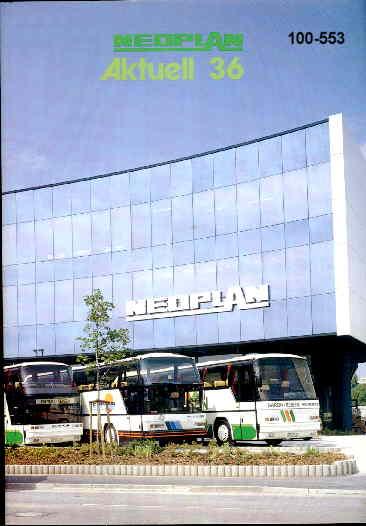 Neoplan - Aktuell 36 08/87 - Hauszeitschrift
