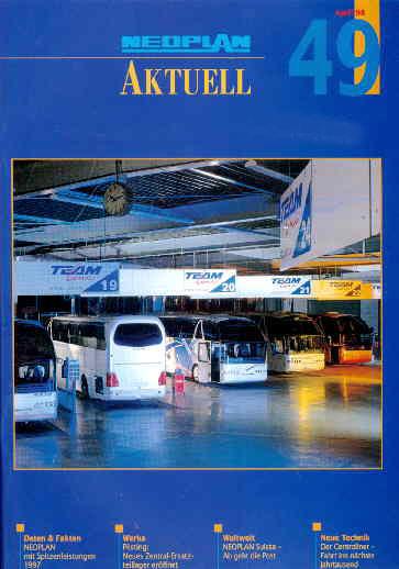 Neoplan - Aktuell 49 04/98 - Hauszeitschrift