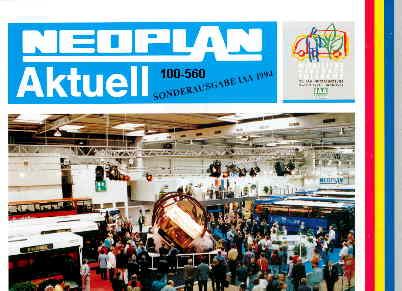 Neoplan - Aktuell Sonderausgabe/IAA 1994