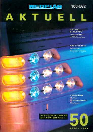 Neoplan - Aktuell 50 04/99 - Hauszeitschrift