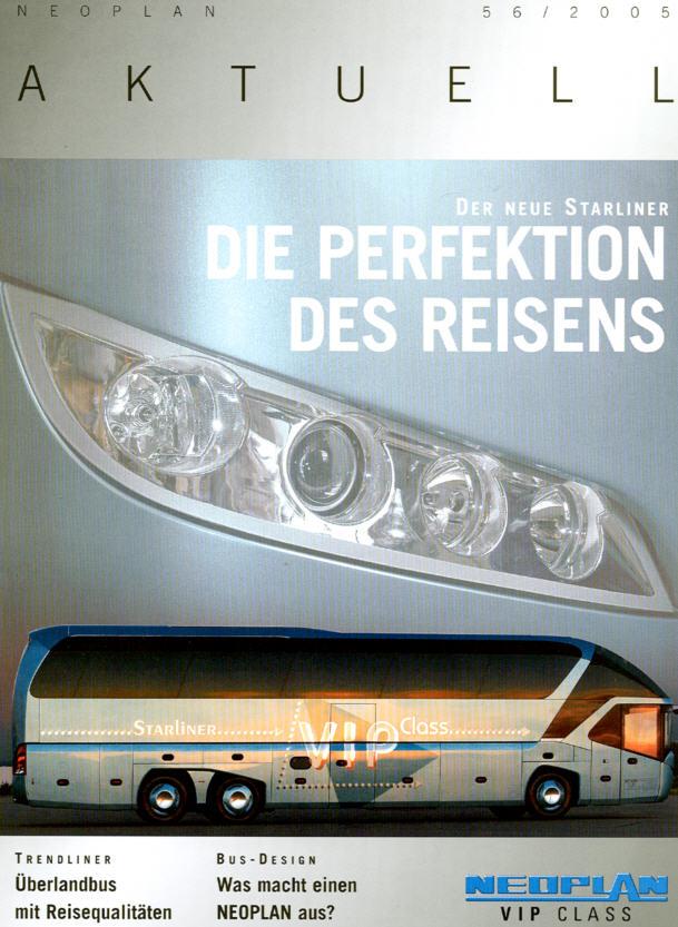 Neoplan - Aktuell 56 2005 - Hauszeitschrift